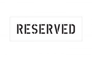 Reserved Stencil