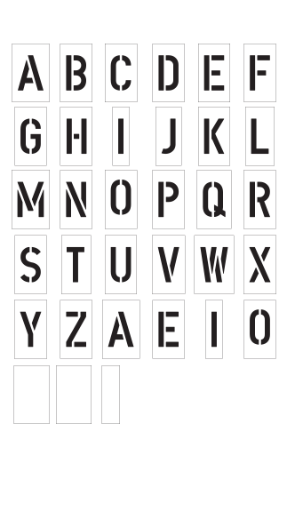 Alphabet Kit