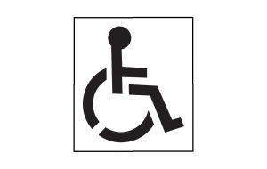 Handicap Stencils