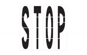 Highway-DOT Stencils